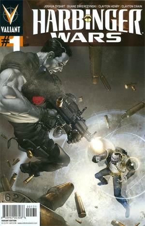 Harbinger Wars #1 Incentive Clayton Crain Variant Cover