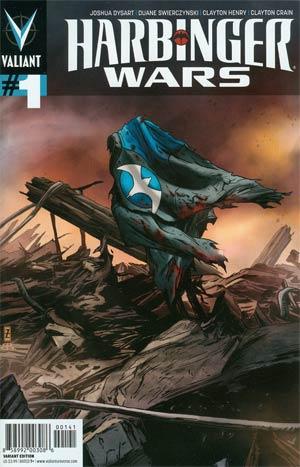 Harbinger Wars #1 Incentive Patrick Zircher Variant Cover