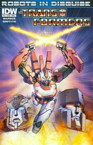 Transformers Robots In Disguise #15 Regular Cover A Andrew Griffith