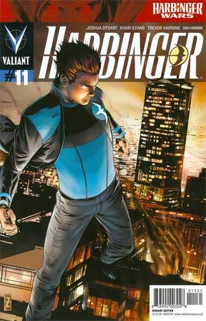 Harbinger Vol 2 #11 Incentive Patrick Zircher Variant Cover (Harbinger Wars Tie-In)