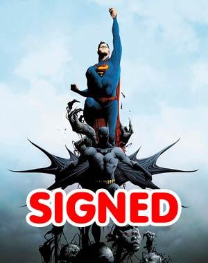 Batman Superman #1 DF Silver Signature Series Signed By Greg Pak