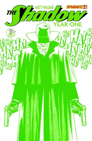 Shadow Year One #1 Cover F ECCC Matt Wagner Emerald Green Exclusive Cover