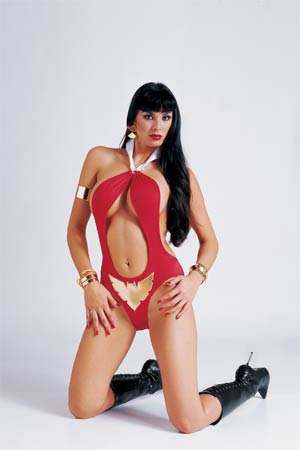 Vampirella Strikes Vol 2 #4 High-End Virgin Photo Ultra-Limited Cover (ONLY 25 COPIES IN EXISTENCE!)
