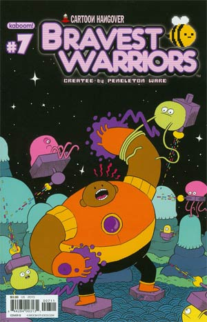 Bravest Warriors #7 Regular Cover B Nick Edwards