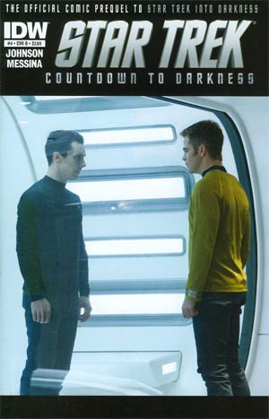 Star Trek Countdown To Darkness #4 Regular Cover B Photo