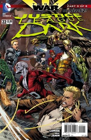 Justice League Dark #22 Cover A 1st Ptg Regular Ivan Reis Cover (Trinity War Part 3)