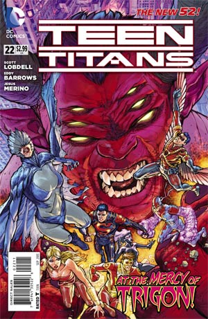 Teen Titans Vol 4 #22 Cover A Regular Howard Porter Cover