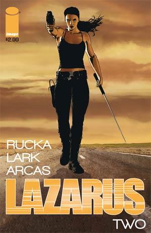 Lazarus #2 1st Ptg
