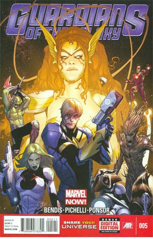 Guardians Of The Galaxy Vol 3 #5 Cover A Regular Sara Pichelli Cover (Age Of Ultron Tie-In)