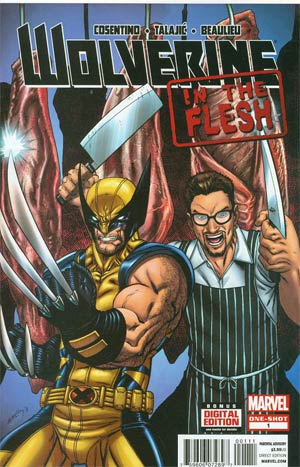 Wolverine In The Flesh #1 Cover A 1st Ptg