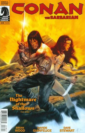 Conan The Barbarian Vol 3 #18