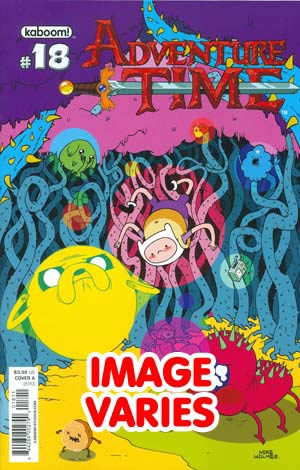 DO NOT USE (DUPLICATE LISTING) Adventure Time #18 Regular Cover (Filled Randomly With 1 Of 2 Covers)