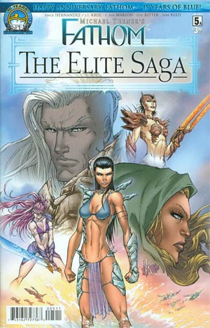 Fathom Elite Saga #5 Cover A Regular Ken Marion Cover
