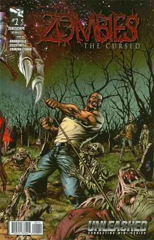 Grimm Fairy Tales Presents Zombies The Cursed #1 Cover A Anthony Spay (Unleashed Tie-In)