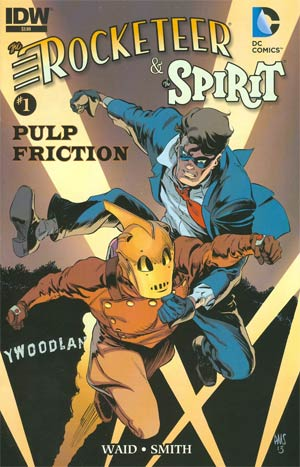 Rocketeer Spirit Pulp Friction #1 Cover A Regular Paul Smith Cover