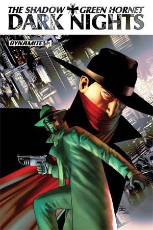 Shadow Green Hornet Dark Nights #1 Cover B Regular John Cassaday Cover