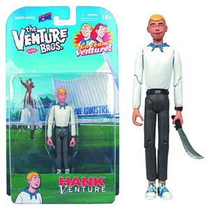Venture Bros 3-3/4 Inch Hank Venture Action Figure