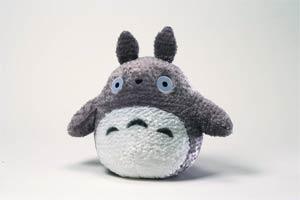 My Neighbor Totoro Plush - 6 inch Fluffy Big Totoro - Grey