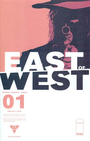 East Of West #1 2nd Ptg