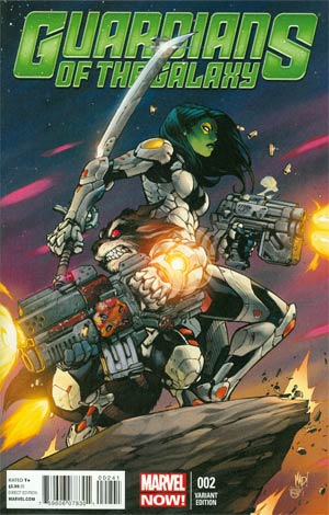 Guardians Of The Galaxy Vol 3 #2 Incentive Joe Madureira Variant Cover