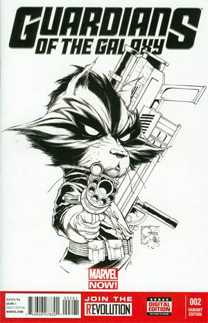 Guardians Of The Galaxy Vol 3 #2 Incentive Joe Quesada Sketch Cover