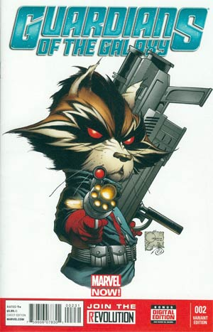 Guardians Of The Galaxy Vol 3 #2 Incentive Joe Quesada Variant Cover