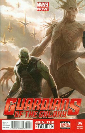 Guardians Of The Galaxy Vol 3 #2 Incentive Movie Variant Cover