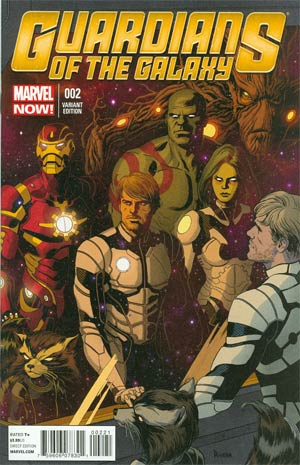 Guardians Of The Galaxy Vol 3 #2 Incentive Paolo Rivera Variant Cover