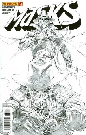 Masks #6 Incentive Ardian Syaf Sketch Cover