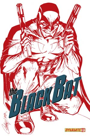 Black Bat #1 High-End J Scott Campbell Blood Red Ultra-Limited Cover (ONLY 100 COPIES IN EXISTENCE!)