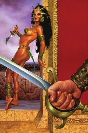 Warlord Of Mars #23 High-End Joe Jusko Virgin Art Ultra-Limited Cover (ONLY 25 COPIES IN EXISTENCE!)