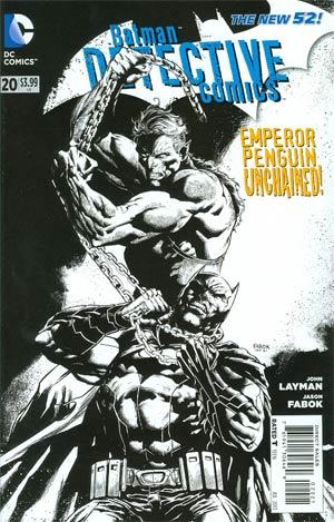 Detective Comics Vol 2 #20 Incentive Jason Fabok Sketch Cover