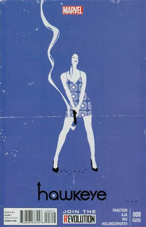 Hawkeye Vol 4 #8 2nd Ptg David Aja Variant Cover