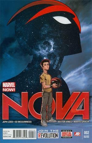 Nova Vol 5 #2 2nd Ptg Ed McGuinness Variant Cover
