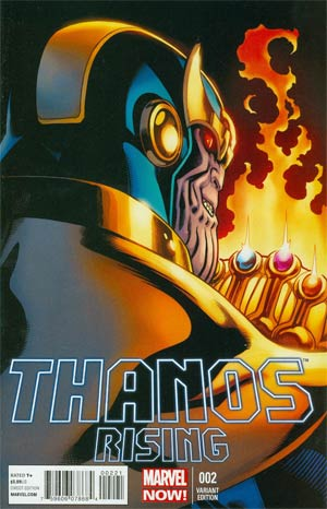 Thanos Rising #2 Incentive Ed McGuinness Variant Cover