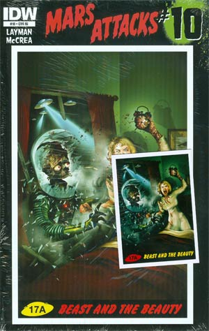 Mars Attacks Vol 3 #10 Incentive Sam Mister-Sam Shearon Variant Cover