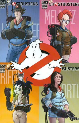 New Ghostbusters #1 2nd Ptg