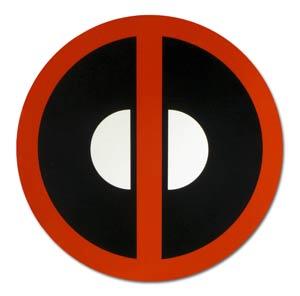 Marvel Car Magnet - Deadpool Logo