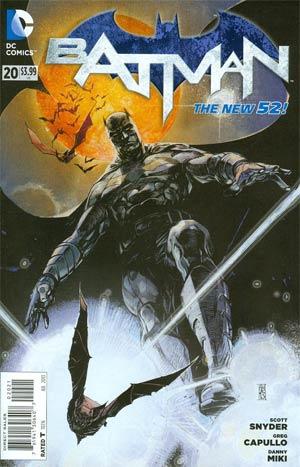 Batman Vol 2 #20 Cover B Variant Alex Maleev Cover