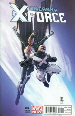 Uncanny X-Force Vol 2 #4 Cover B Incentive Giuseppe Camuncoli Variant Cover