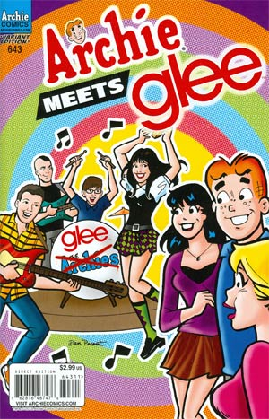 Archie #643 Archie Meets Glee Part 3 Band Cover