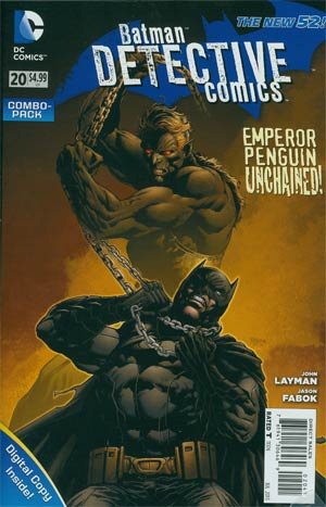 Detective Comics Vol 2 #20 Combo Pack Without Polybag
