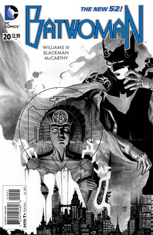 Batwoman #20 Incentive JH Williams III Sketch Cover