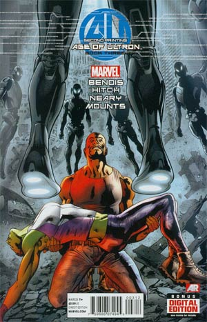 Age Of Ultron #3 2nd Ptg Variant Bryan Hitch Cover