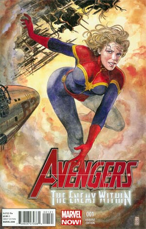 Avengers Enemy Within #1 Incentive Milo Manara Variant Cover (Enemy Within Part 1)