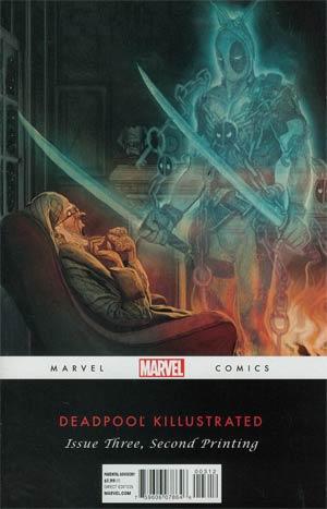Deadpool Killustrated #3 2nd Ptg Mike Del Mundo Variant Cover