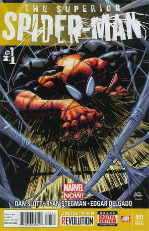 Superior Spider-Man #1 Cover N 4th Ptg Ryan Stegman Variant Cover