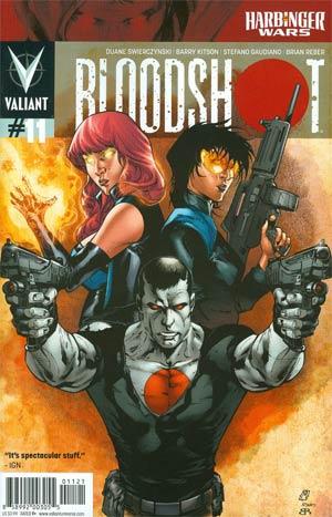 Bloodshot Vol 3 #11 Incentive Matthew Clark Variant Cover (Harbinger Wars Tie-In)