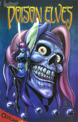 Drew Hayes Poison Elves #2 Cover C Incentive Darick Robertson Blue Variant Cover