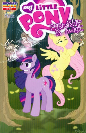 My Little Pony Friendship Is Magic #2 3rd Ptg